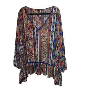 Loving Doll Boho Peasant Blouse 3X